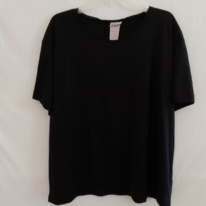 Basic Editions Plus Size Women's Pullover Top